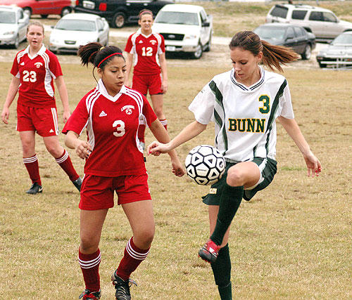 BUNN OPENS SOCCER SEASON WITH HOME VICTORY