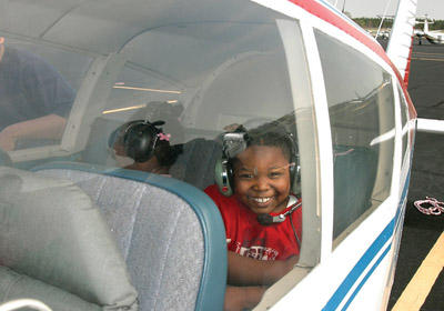 Airport hosts day of fun for families