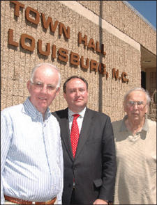 Louisburg: public�s needs are better served more centrally