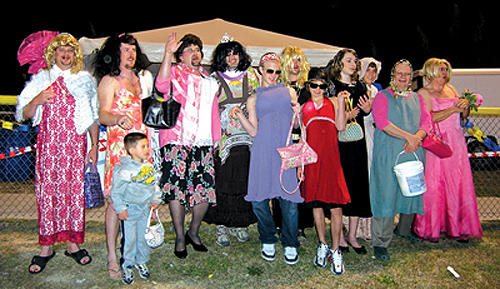 Relay for Life dolls walked the walk in womanless beauty pageant