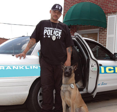 Police chief brings in K-9 without OK