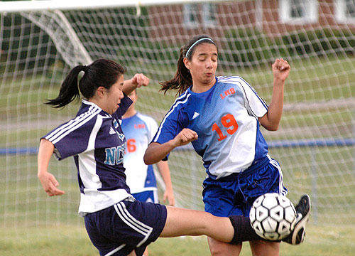 LADY WARRIORS FALL TO NCSSM IN STATE PLAYOFFS