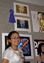 Student art show opens at Louisburg College