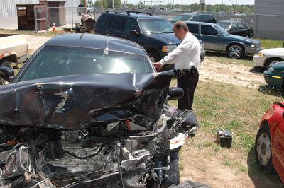 Three Bunn High students, resource officer in collision
