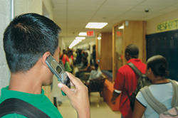 Cell phones at school: proposed policy change rings in leniency for students