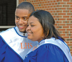 Take it from these two Franklin grads: the best is yet to come