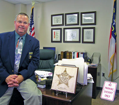 First six months<br>Sheriff Pat Green focuses on improving