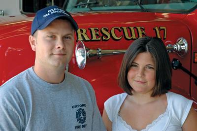 Modern-day hero pulls girl from burning car