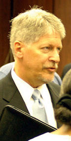 Davis steps into Nifong hearing role