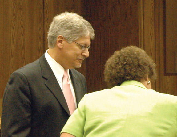 Nifong sentence: special prosecutor Charles Davis says right message sent