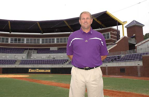 Blue-collar guy:<br>Billy Godwin may wear purple and gold but his work ethic is true blue