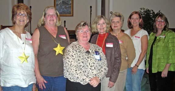 NEW MEMBERS JOIN YOUNGSVILLE WOMAN'S CLUB