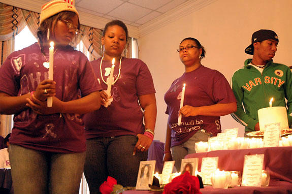 Safe Space's candlelight vigil aims to stamp out domestic violence