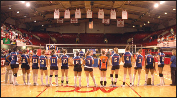 OH SO VERY CLOSE<br>Louisburg volleyball falls to Hendersonville in state championship match