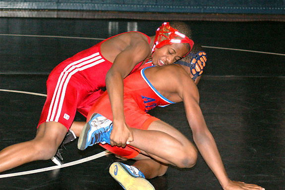RED RAM RASSLERS<br>FHS wrestling progresses with experience
