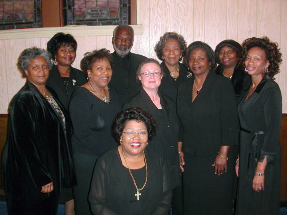 <i>Night of gospel music at Louisburg College</i>