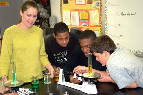 TLMS teacher explores different grants to get the most for science classes