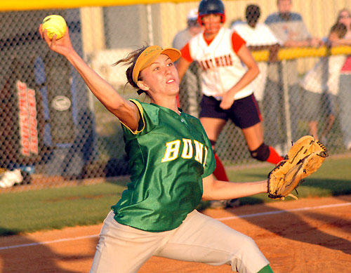 North Pitt pitcher Sutton shuts down Ladycats