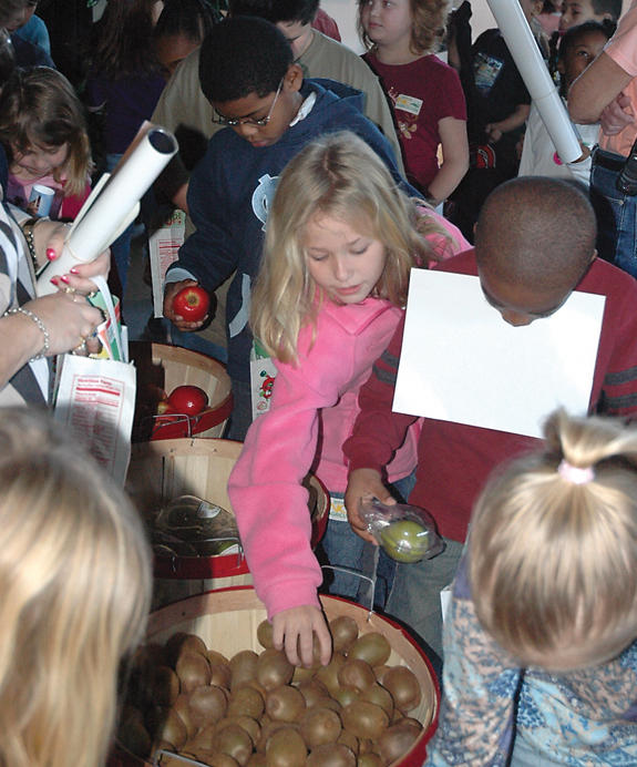 Nutrition fair: no small potatoes