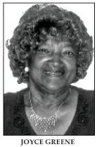 Joyce Greene honored for community services