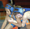 Grapplers shine for Warriors