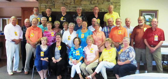 <i>Louisburg High's Class of '65 reunited</i>
