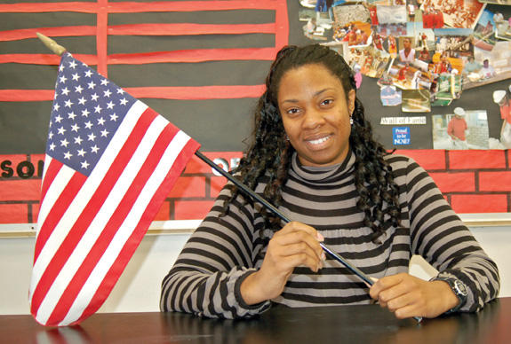 Williams will rememember President Obama's big day