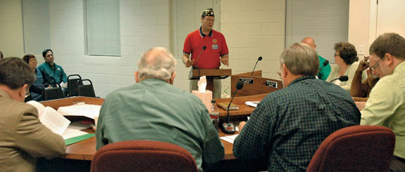 Franklinton stands up for American Legion