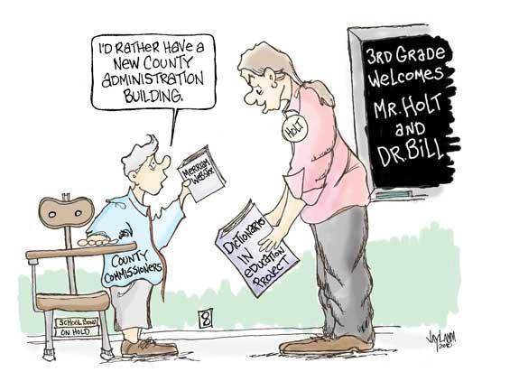 Editorial Cartoon: Defining Moment
