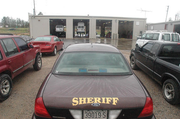Sheriff Green to request new cruisers from county