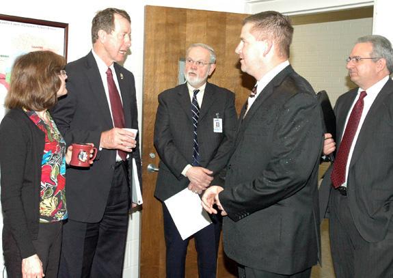 Etheridge, locals discuss stimulus funds