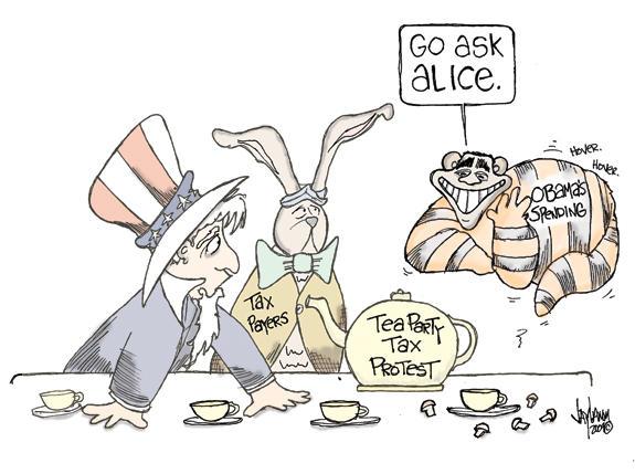 Editorial Cartoon: Doormat Mouse