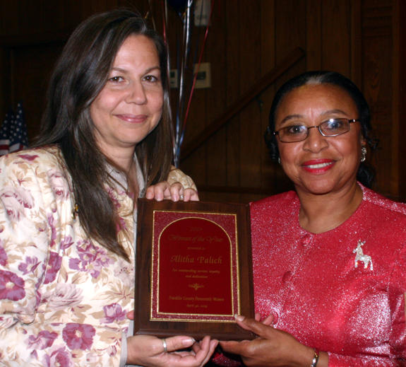 Palich receives Democratic Woman of the Year Award