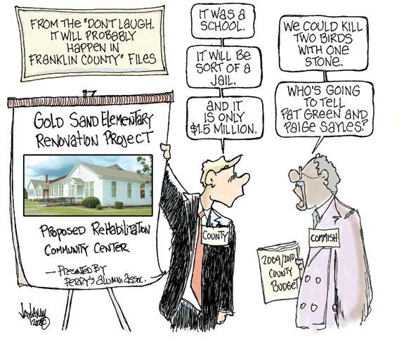 Editorial Cartoon: Grant's Tomb