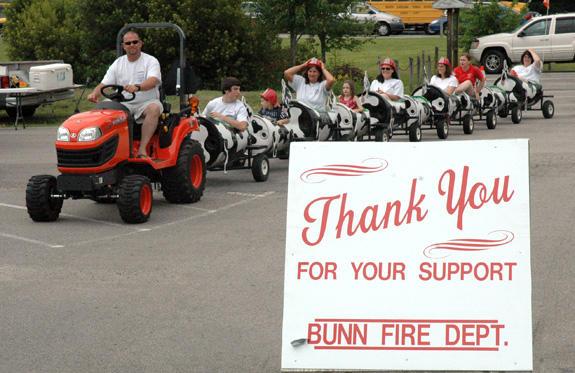 Bunn Fire Department celebrates half century