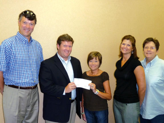 Care and Share program receives $1,000 donation