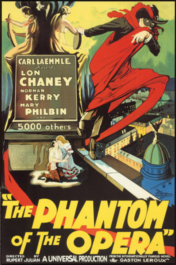 """Special showing of silent film, """"The Phantom of the Opera"""""""