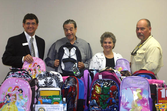 Rotary back-to-school supply drive