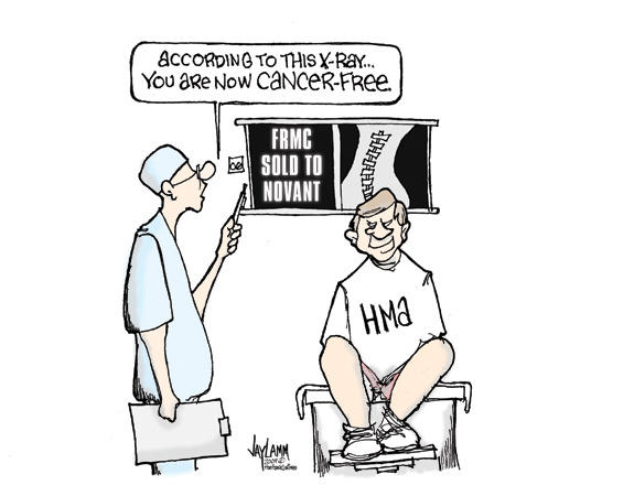 Editorial Cartoon: Elective Surgery