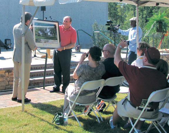 Youngsville businessman honored with Wake Forest park dedication