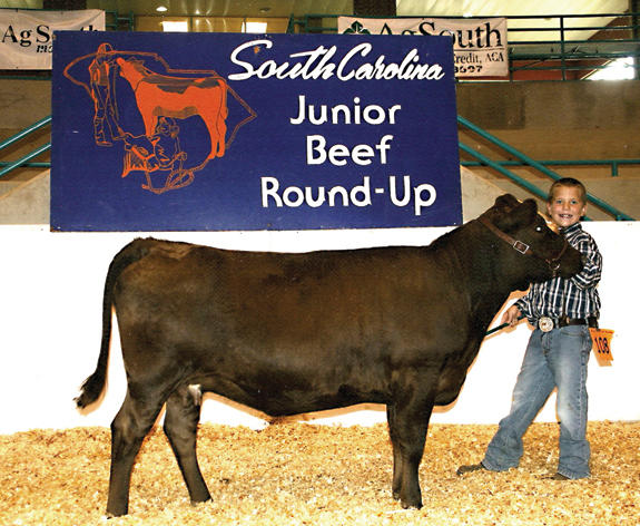 It's good to be named Jackson at the SC Junior beef roundup