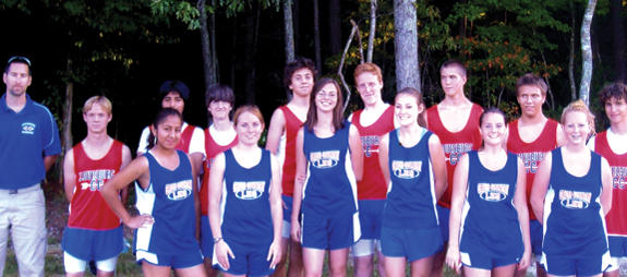LOUISBURG HIGH SCHOOL CROSS COUNTRY TEAM