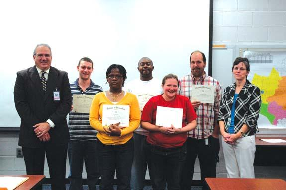Former students qualify for high school diplomas from FCS