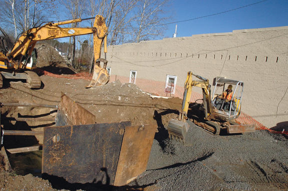Louisburg sewer project spilling over with delays