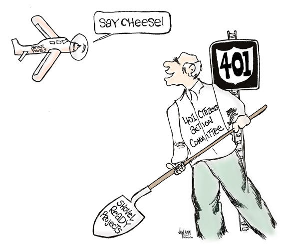 Editorial Cartoon: Free Bird