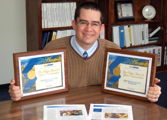 Moreschi wins awards