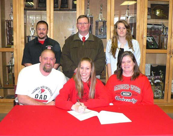 SHAYLYN SIGNS WITH GARNDER-WEBB
