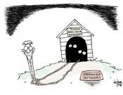 Editorial Cartoon: Rabid Fire