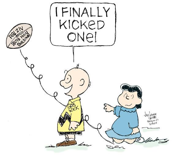 Editorial Cartoon: Blockhead