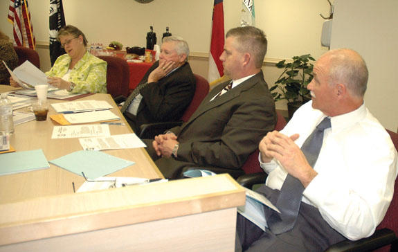 Commissioners face off over nepotism policy